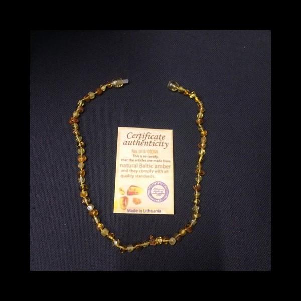 Ambre – Collier bébé avec certificat d authenticité aa6b4fc556c9