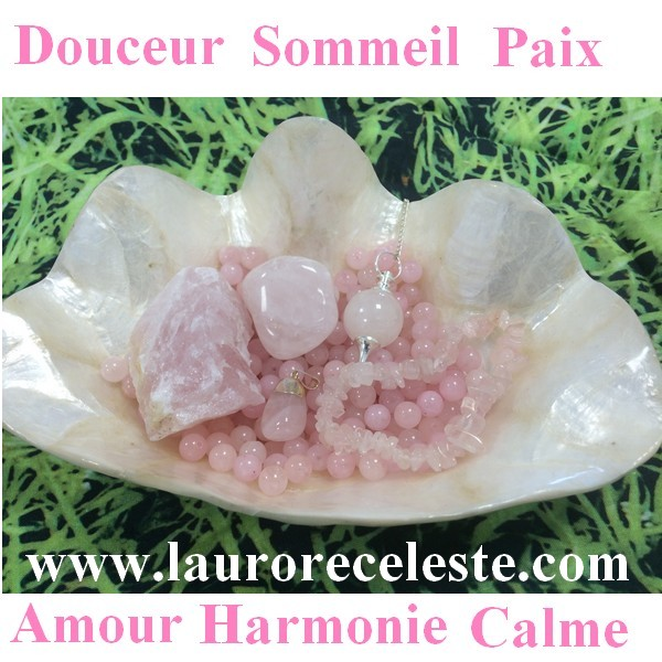 Le Quartz Rose Pierre De Douceur L Aurore Celeste
